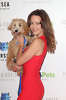 Kimberleigh Gelber at the Collars &amp; Coats Gala Ball 2018 at Battersea Evolution, Battersea Park, London on Thursday 1st November 2018<br /> CAP/JIL<br /> &copy;JIL/Capital Pictures