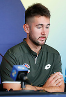 2nd January 2020; RAC Arena , Perth, Western Australia, Australia; ATP Cup Team Press conferences, Spain; Viktor Durasovic of Norway speaks at the teams press conference - Editorial Use