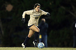 21 November 2014: Colorado's Emily Paxton. The University of North Carolina Tar Heels hosted the University of Colorado Buffaloes at Fetzer Field in Chapel Hill, NC in a 2014 NCAA Division I Women's Soccer Tournament Second Round match. UNC won the game 1-0 in overtime.