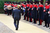 Roma, 1 Dicembre 2005. Silvio Berlusconi al vertice Italia Spagna