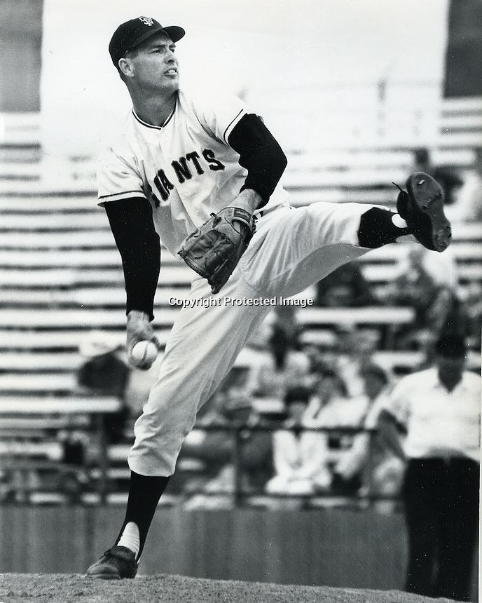 San Francisco Giants pitcher Jim Barr.<br />