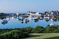 Wychmere Harbor, Harwich Port, Cape Cod, Massachusetts, USA.