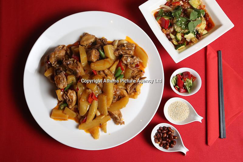Star Chinese Restaurant food shots, Swansea, Wales, UK. 11 September 2017