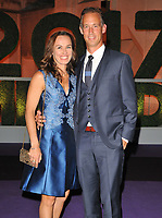Martina Hingis and Thibault Hutin at the Wimbledon Champions Dinner, The Guildhall, Gresham Street, London, England, UK, on Sunday 16 July 2017.<br /> CAP/CAN<br /> &copy;CAN/Capital Pictures /MediaPunch ***NORTH AND SOUTH AMERICAS ONLY***