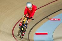 Picture by Alex Whitehead/SWpix.com - 23/03/2018 - Cycling - 2018 UCI Para-Cycling Track World Championships - Rio de Janeiro Municipal Velodrome, Barra da Tijuca, Brazil - Zhangyu Li of China wins Gold in the Men's C1 1km Time Trial final.