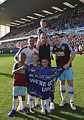 02/05/16 Sky Bet League Championship  Burnley v QPR<br /> Andre Gray, Michael Duff, Sam Vokes and families celebrate