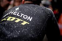 how a rain jacket works...<br /> <br /> Stage 5: Frascati to Terracina (140km)<br /> 102nd Giro d'Italia 2019<br /> <br /> ©kramon