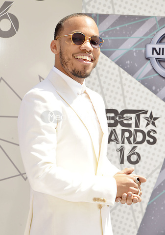 LOS ANGELES, CA - JUNE 26: Anderson at the 2016 BET Awards at the Microsoft Theater on June 26, 2016 in Los Angeles, California. Credit: Koi Sojer/MediaPunch