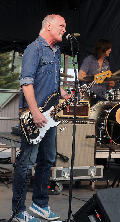 Photo of  Scott Thunes (bass), of The Mother Hips, performing at the Mountain Jam Music Festival of 2015, in Hunter, NY on Friday June 5, 2015. Photo by Jim Peppler. Copyright Jim Peppler 2015.