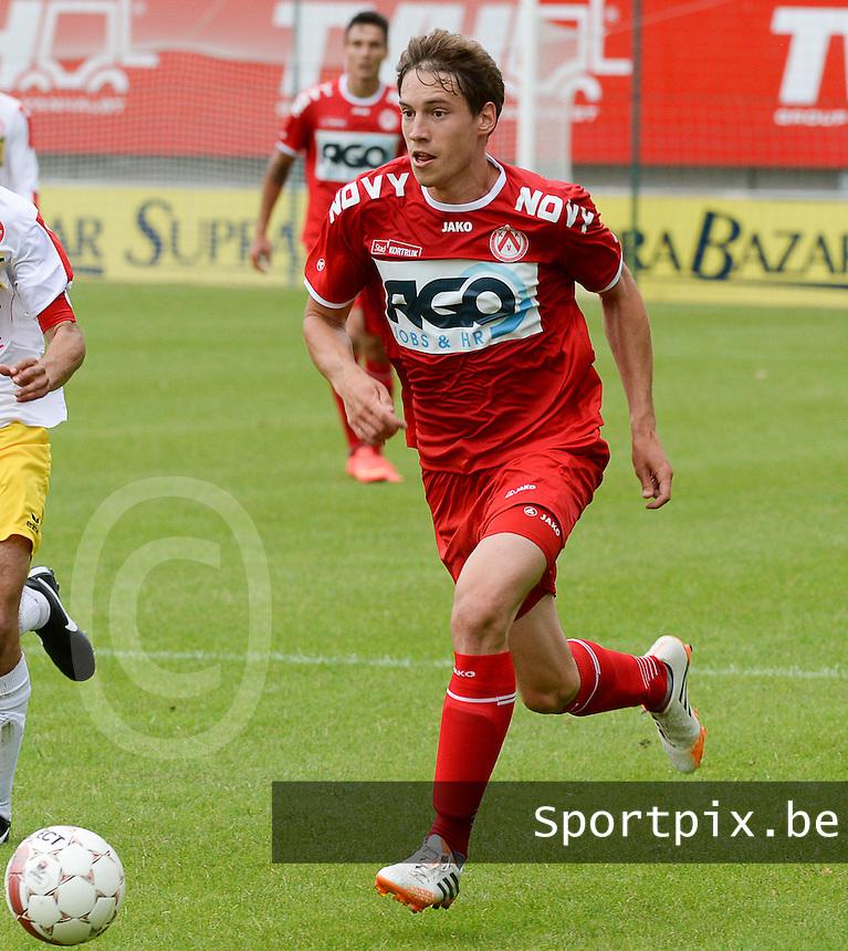 KV Kortrijk : Dylan Ragolle <br /> foto VDB / BART VANDENBROUCKE