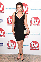 Jasmine Armfield<br /> arriving for the TV Choice Awards 2017 at The Dorchester Hotel, London. <br /> <br /> <br /> &copy;Ash Knotek  D3303  04/09/2017