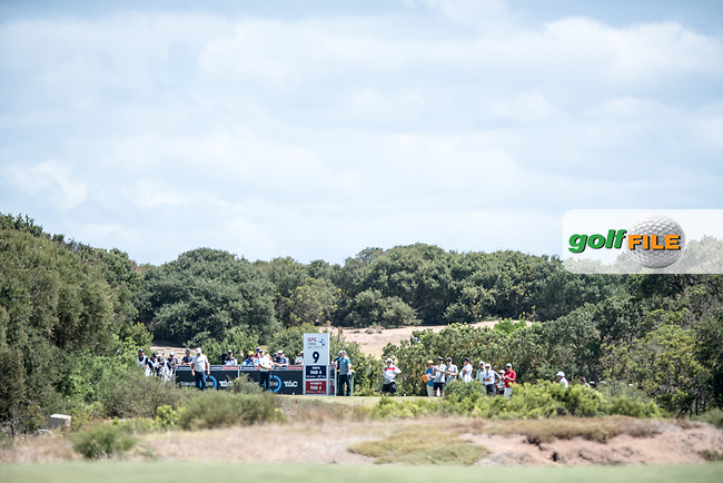 during the 2nd round of the ISPS Handa VIC Open, 13th Beech, Barwon Heads, Victoria, Australia. 08/02/2019.<br />