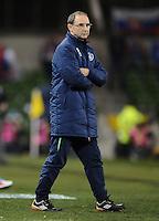 29/03/2016;International Friendly - Republic of Ireland vs Slovakia, Aviva Stadium, Dublin<br /> Republic of Ireland manager Martin O'Neill.<br /> Photo Credit: actionshots.ie/Tommy Grealy