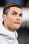 Cristiano Ronaldo of Real Madrid looks on prior to the Copa del Rey 2016-17 Quarter-final match between Real Madrid and Celta de Vigo at the Santiago Bernabéu Stadium on 18 January 2017 in Madrid, Spain. Photo by Diego Gonzalez Souto / Power Sport Images