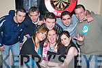 4894-4897.Key to the Door - Nicole Maloney from Killeen, seated centre having a wonderful time with friends on her 21st birthday in Lynch's Bar, Pembroke St. on Saturday night. Seated l/r Odette Egan, Nicole Maloney and Lorna Lacey, standing l/r Joseph O'Reilly, Kevin & Thomas Moroney, Justin Lonergan and Rob Corona............................................................................... ............   Copyright Kerry's Eye 2008