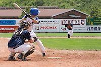 BASEBALL - GREEN ROLLER PARK - PRAGUE (CZECH REPUBLIC) - 25/06/2008 - PHOTO: CHRISTOPHE ELISE.BATTING ILLUSTRATION (TEAM FRANCE)