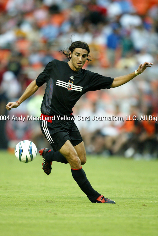14 July 2004: Kevin Ara. DC United defeated Nottingham Forest of England First Division 4-3 on penalties after the teams played to a 1-1 draw at RFK Stadium in Washington, DC during an international exhibition match..