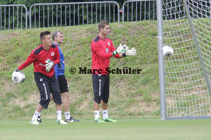Kevin Trapp (Eintracht) - Eintracht Frankfurt Trainingsauftakt