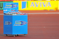 Photo: Tony Oudot/Richard Lane Photography..Aviva London Grand Prix. 24/07/2009. .Lucozade.