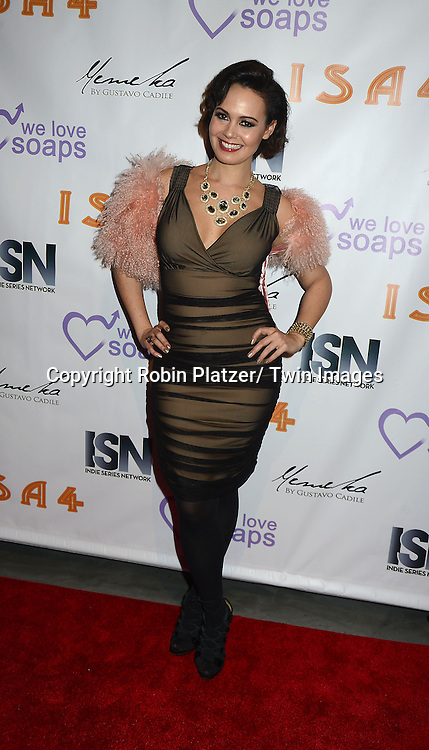 Lauren B Martin attends the  4th Annual Indie Soap Awards  on Tuesday, February 19th at The New World Stages in New York City. .