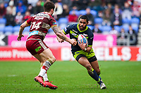 Picture by Alex Whitehead/SWpix.com - 11/03/2018 - Rugby League - Betfred Super League - Wigan Warriors v Wakefield Trinity - DW Stadium, Wigan, England - Wakefield's Bill Tupou.