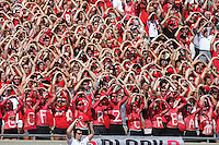 Block O students sing Carmen Ohio before the start of a football game between the Ohio State Buckeyes and the San Diego State Aztecs on Sept. 7, 2013 at Ohio Stadium. (Columbus Dispatch photo by Fred Squillante)