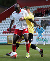 Patrick Agyemang of Stevenage (on loan from QPR) shields the ball. - Stevenage v Carlisle United - npower League 1 - Lamex Stadium, Stevenage - 17th April, 2012. © Kevin Coleman 2012