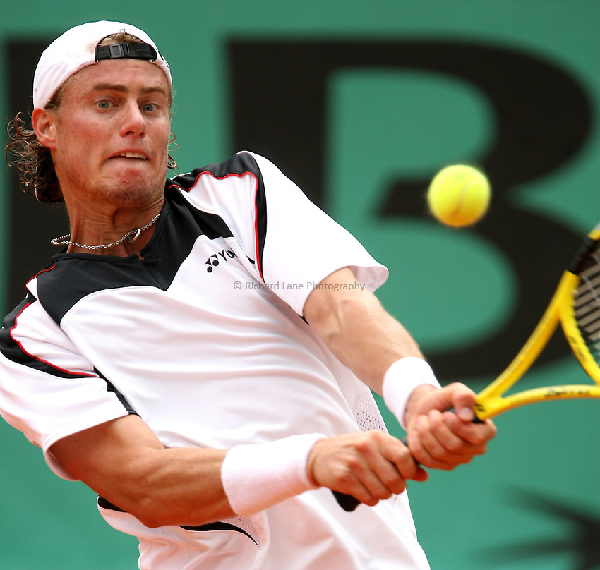Photo: Iconsport/Richard Lane Photography..French Open, Roland Garros 2007. 31/05/2007..Lleyton Hewitt
