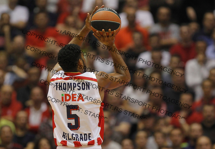 Kosarka Euroleague season 2015-2016<br /> Euroleague <br /> Crvena Zvezda v Real Madrid<br /> Ryan Thompson<br /> Beograd, 27.11.2015.<br /> foto: Srdjan Stevanovic/Starsportphoto &copy;
