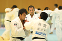 (L-R) Ryunosuke Haga, Keiji Suzuki (JPN), <br /> JULY 27, 2016 - Judo : <br /> Men's Japan national team training session <br /> for Rio Olympic Games 2016 <br /> at Ajinomoto National Training Center, Tokyo, Japan. <br /> (Photo by AFLO SPORT)