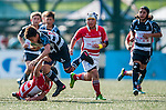 BGC Dragons defeat Tradition YCAC in the Cup Final during day 2 of the 2014 GFI HKFC Tens at the Hong Kong Football Club on 27 March 2014. Photo by Juan Flor / Power Sport Images