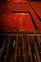 Red Barn Door Campbell Valley Park, Langley B.C.