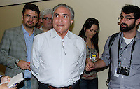 ATENÇÃO EDITOR: FOTO EMBARGADA PARA VEÍCULOS INTERNACIONAIS. SAO PAULO, SP, 07 DE OUTUBRO DE 2012 - ELEIÇÕES A PREFEITURA DE SP - GABRIEL CHALITA - O candidato a prefeitura de São Paulo pelo PMDB Gabriel Chalita comparece as urnas na manhã deste domingo(07) no colegio Sion na Av. Higienopolis na região central de São Paulo.  (FOTO: AMAURI NEHN / BRAZIL PHOTO PRESS).