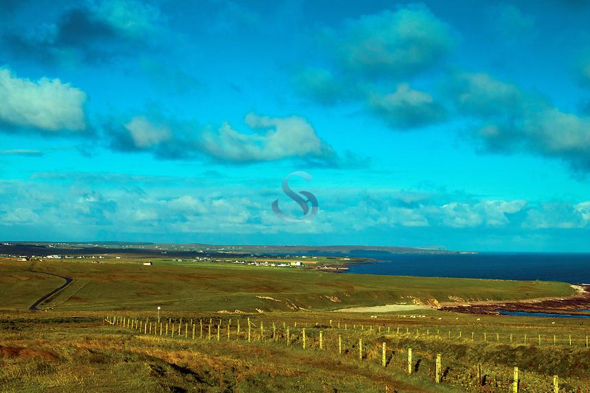 John o' Groats from Duncansby Head, Caithness