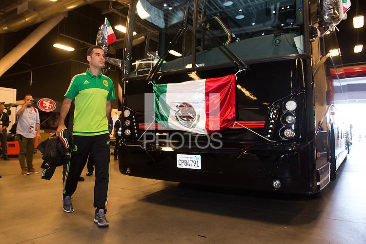 Photo before the match Mexico vs Chile, Corresponding to the quarterfinals of the America Cup Centenary 2016 at Levis Stadium.<br /> <br /> Foto previo al partido Mexico vs Chile, Correspondiente a los Cuartos de Final de la Copa America Centenario 2016, en el Estadio Levis, en la foto: Rafael Marquez de Mexico<br /> <br /> <br /> 18/06/2016/MEXSPORT/Jorge Martinez.