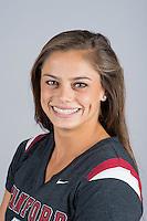 STANFORD, CA - Alex Archer of Stanford University Women's Gymnastics.