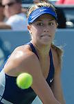 Eugenie Bouchard (CAN) defeats Olga Govortsova (BLR) 6-2, 6-1