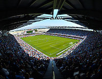 San Jose, CA. - Sunday, May 10, 2015: The USWNT play Ireland in an international friendly game at Avaya Stadium.