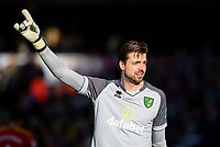Norwich City's Tim Krul<br /> <br /> Photographer Alex Dodd/CameraSport<br /> <br /> The Premier League - Wolverhampton Wanderers v Norwich City - Sunday 23rd February 2020 - Molineux - Wolverhampton<br /> <br /> World Copyright © 2020 CameraSport. All rights reserved. 43 Linden Ave. Countesthorpe. Leicester. England. LE8 5PG - Tel: +44 (0) 116 277 4147 - admin@camerasport.com - www.camerasport.com