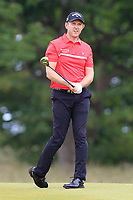 Stuart Manley (WAL) on the 1st during Round 4 of the Aberdeen Standard Investments Scottish Open 2019 at The Renaissance Club, North Berwick, Scotland on Sunday 14th July 2019.<br /> Picture:  Thos Caffrey / Golffile<br /> <br /> All photos usage must carry mandatory copyright credit (© Golffile | Thos Caffrey)