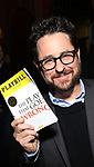 J.J. Abrams attends 'The Play That Goes Wrong' Broadway Opening Night at the Lyceum Theatre on April 2, 2017 in New York City.