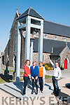Duagh Bell: Pictured at Duagh Church at the restored Bell were Caroline Horgan, B'anne O'Connor, Rita Holly & John Mangan of the Duagh Develpoment Association.