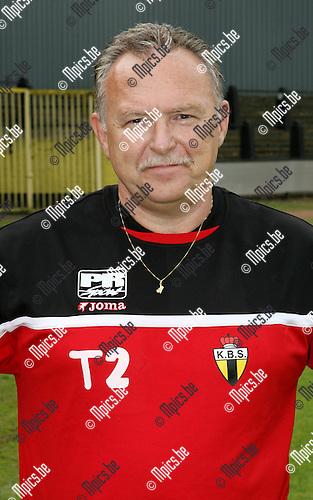2008-07-16 / Voetbal / K. Berchem Sport / Seizoen 2008-2009 / Hulptrainer Gilbert Van den Brempt..Foto: Maarten Straetemans (SMB)