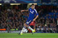 Oscar of Chelsea in action during the UEFA Champions League match between Chelsea and Maccabi Tel Aviv at Stamford Bridge, London, England on 16 September 2015. Photo by Andy Rowland.