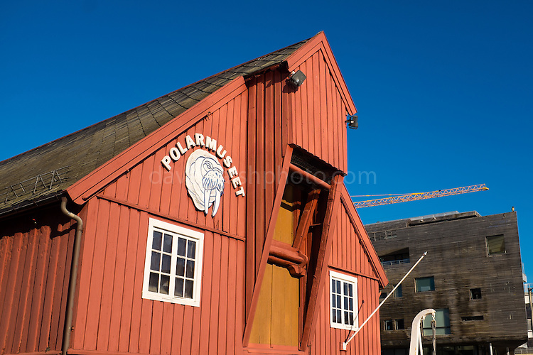 Polar Museum, Tromso, Norway, run by the University of Tromso.