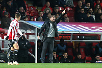 Oxford United Manager, Karl Robinson during Brentford vs Oxford United, Emirates FA Cup Football at Griffin Park on 5th January 2019