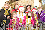 SANTA'S ON HIS WAY: Getting ready to welcome Santa at Athea Community Centre this weekend, front l-r: Brewster Carr, Ben Thornton, Leighann Mulvihill, Gavin Mulvihill. Back l-r: Julie Gleeson, Natalie Thornton, Lorraine Mulvihill, Kelly Murphy.