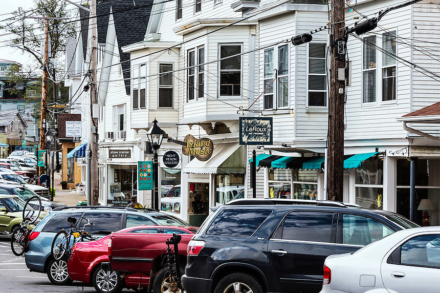Downtown Vineyard Haven,  Matha's Vineyard, Massachusetts, USA