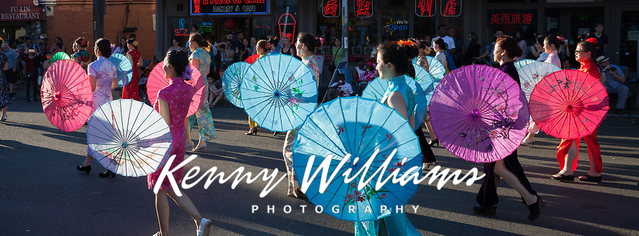 Chinatown Seafair Parade 2016, Seattle, Washington State, WA, USA.