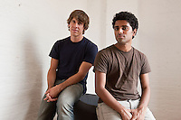 Dennis Crowley and Naveen Selvadurai, Foursquare founders